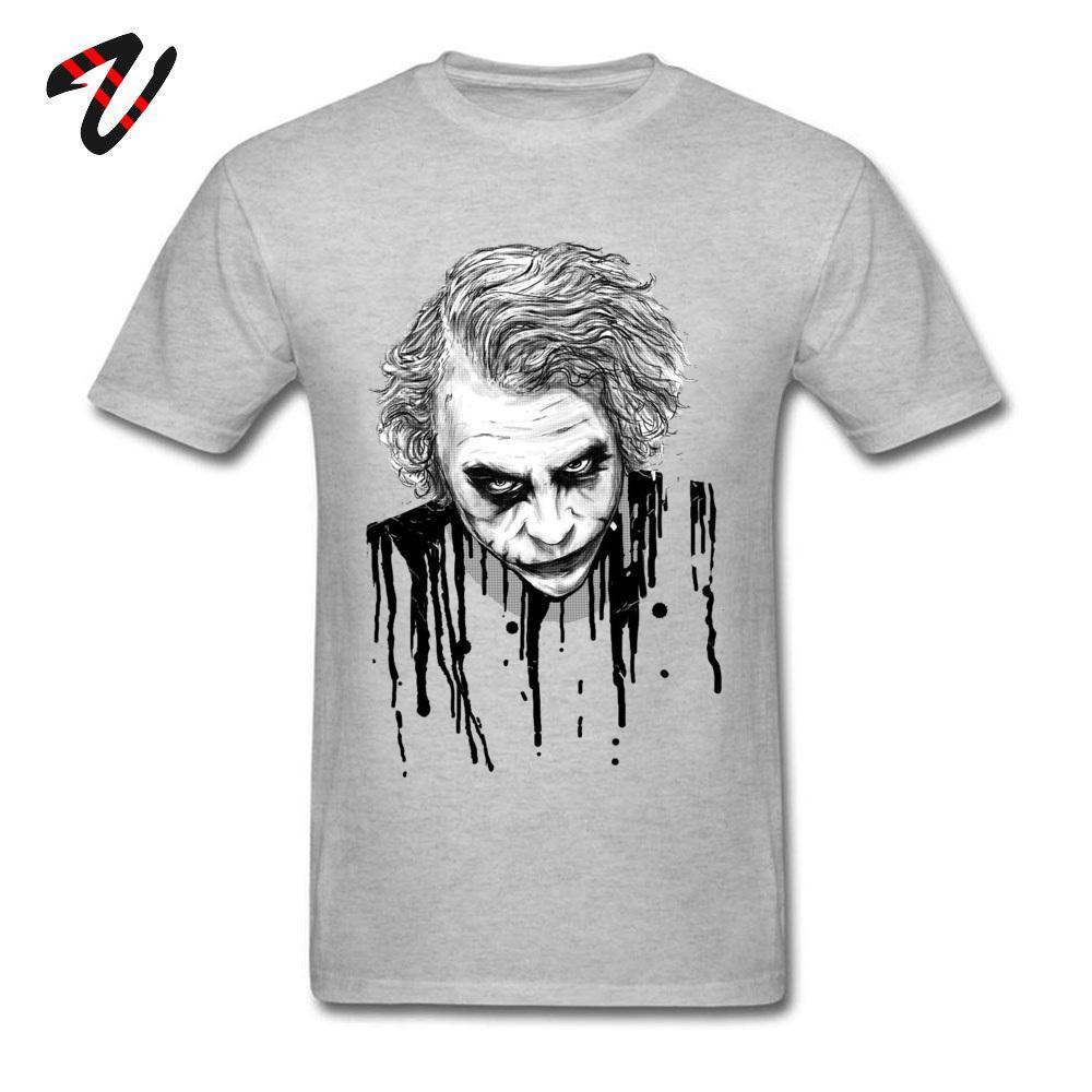 Joker Tshirt Uomini Suicide Squad Quinn Lover Tshirt pazzo pazzo Mens maglietta dei vestiti alla moda 100% cotone Insane Clown Abbigliamento