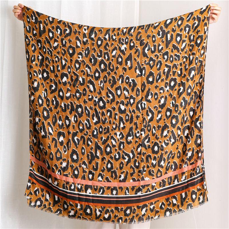 Sl1908-033 colorido Moda Piel de leopardo