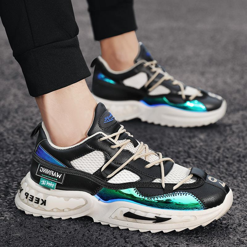 Autumn New Mens Sneakers Korean Version Fashion Ing Dad Shoes Fashion Casual Mens Shoes