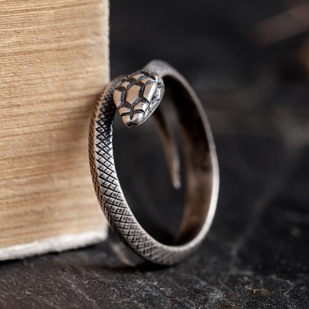 Junerain progettista di marca Single Coppia Anello Curse ad anello d'oro Stick sociale Guy anello maschile Prepotente personalità di Retro Sodalizio degli Studenti