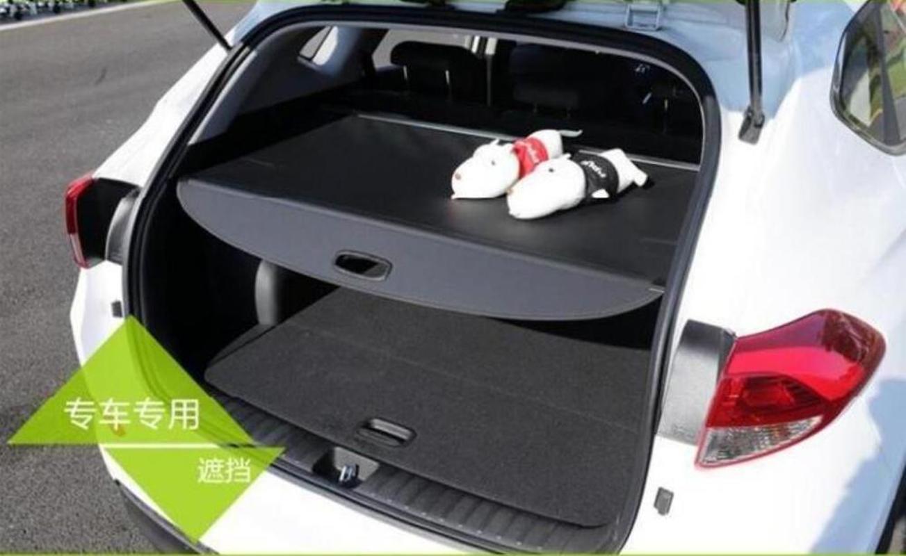 Für X-Trail T32 2014 2020 Rück Verpackung Regal Car Styling Kofferaumdeckel Vorhang Material Verschlussvorhang Retractable Spa