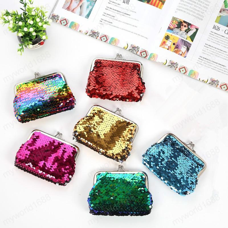 Симпатичная мини монеты сумка Kawaii Дети девочка Малой Нулевой кошелек сумка блесток Женщина Деньги Кошелек Малого мешок