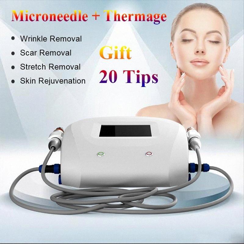 Thermische RF-Maschine Microneedle Anti-Aging-RF Thermage Gesichtspflege-Maschine für Face Lifting Falten entfernen Schönheit Maschine Radio-F 2bdK #