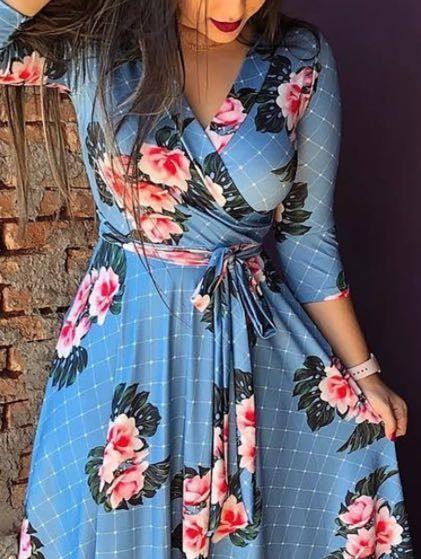 hp4nr hHJ1F yılı baskılı bel V yaka bandı Elbise dijital baskılı bel V yaka bandı elbise Dijital yıl
