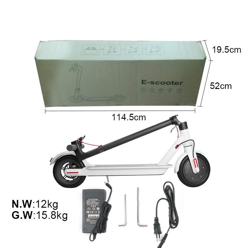 Yeni Elektrikli Scooter 250 W Katlanır Kick Bisiklet Bisiklet Scooter yetişkin 36 V ile LED Ekran Yüksek Hızlı Kapalı Yol MK083