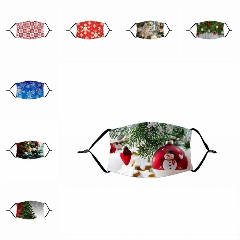 Merry Christmas Tree Reusable Mascarilla Anti Dust Mouth Respirator Protect Pm2.5 Fashion Face Mask Children With Filter Adult 4 2xtf B2
