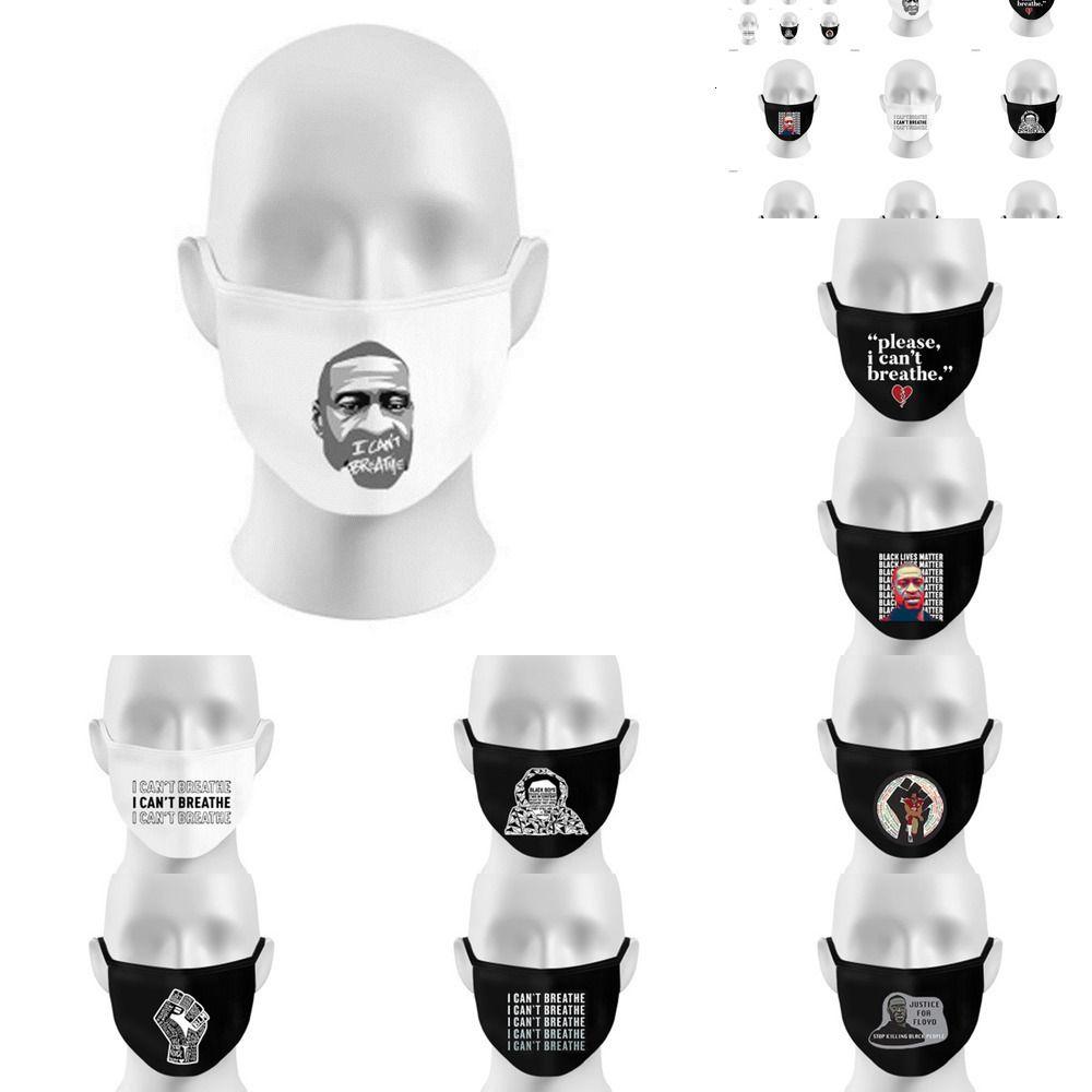 Respiración reutilizable K95% 6 Filtro de válvula Capa de cara Máscara de protección Letra de diseñador MA 96kg 8510