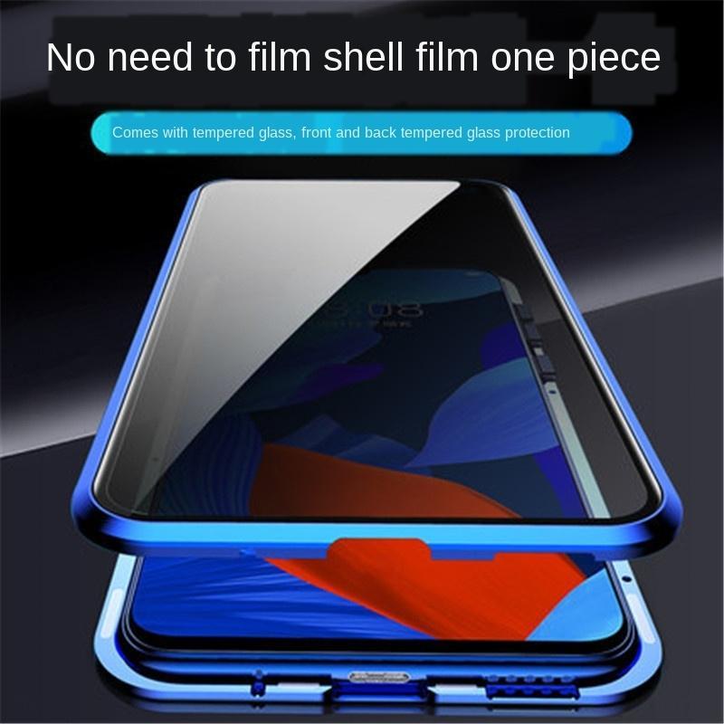 9JvvC Huawei Mate30Pro Handy-Schild Handy Fall Telefonkasten neuen magnetischen Sog anti-Peep-Wan magnetische Wang Rongyao 20 doppelseitig g