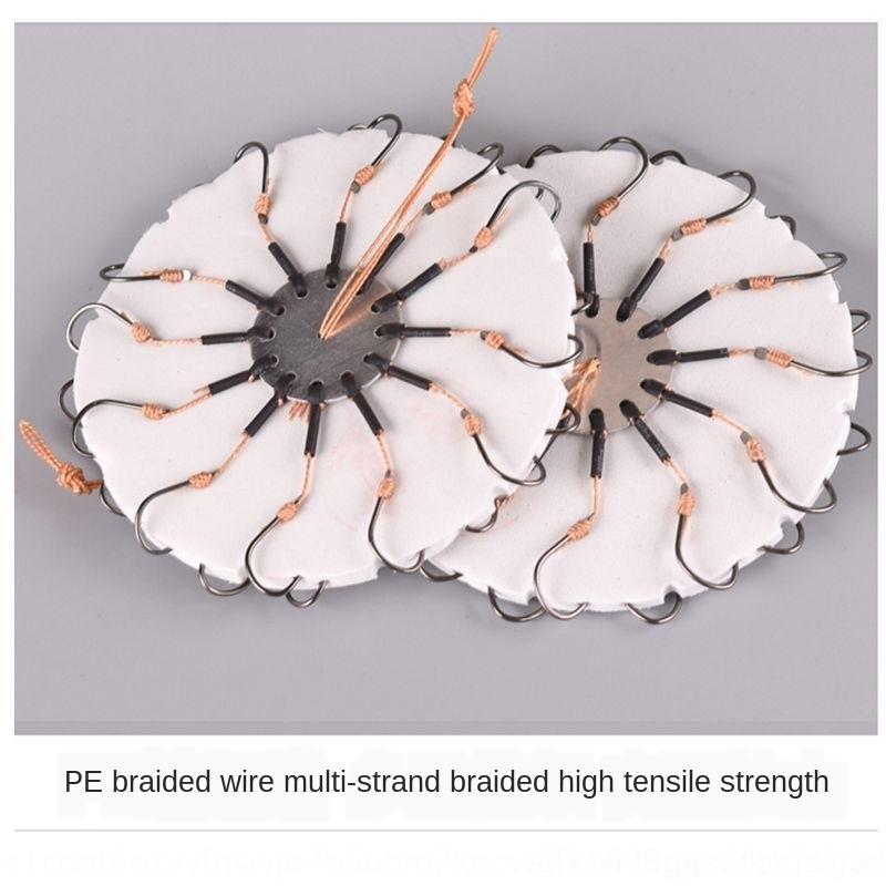 Angeln Klappe Explosion Bombe Getriebe liefert Kralle Plattenhaken pitchcake Kuchen acht Angelhaken Ll6BV