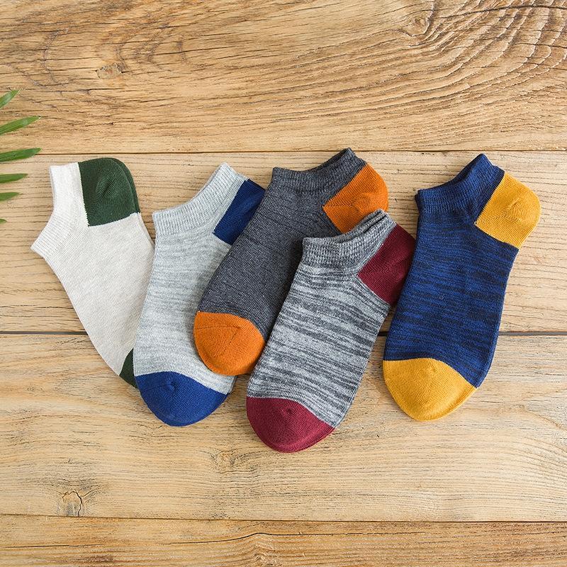 CREJV Huatian xiapixia Socken Serie Yupi Boote unsichtbares Boot unsichtbare Socken der Baumwollmänner Männer personifizierten