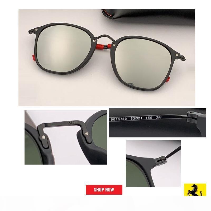 Designer Sunglasses Women 2019 top Quality square Vintage Frame mercury gradient uv400 Sunglasses Retro Top Glasses Fashion 2448M lens gafas