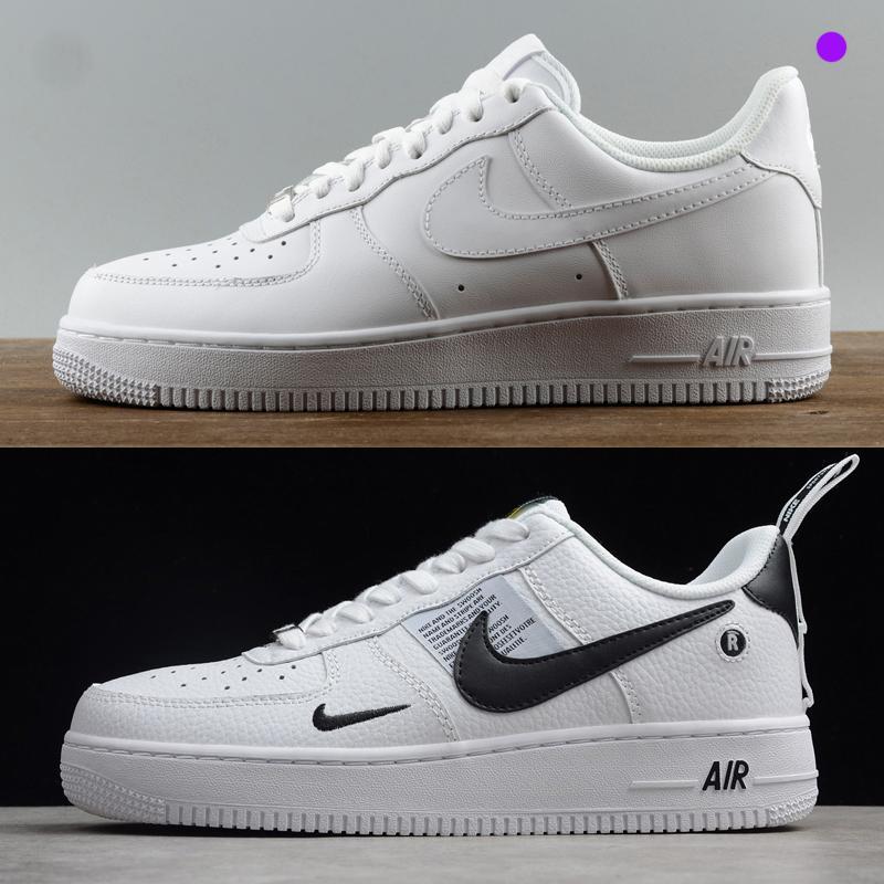 Zapatillas de deporte superiores de diseño para mujeres hombres ce 1 una baja alta 07 chaussures AF1 formadores de moda fuerzas de skate zapatos blanco