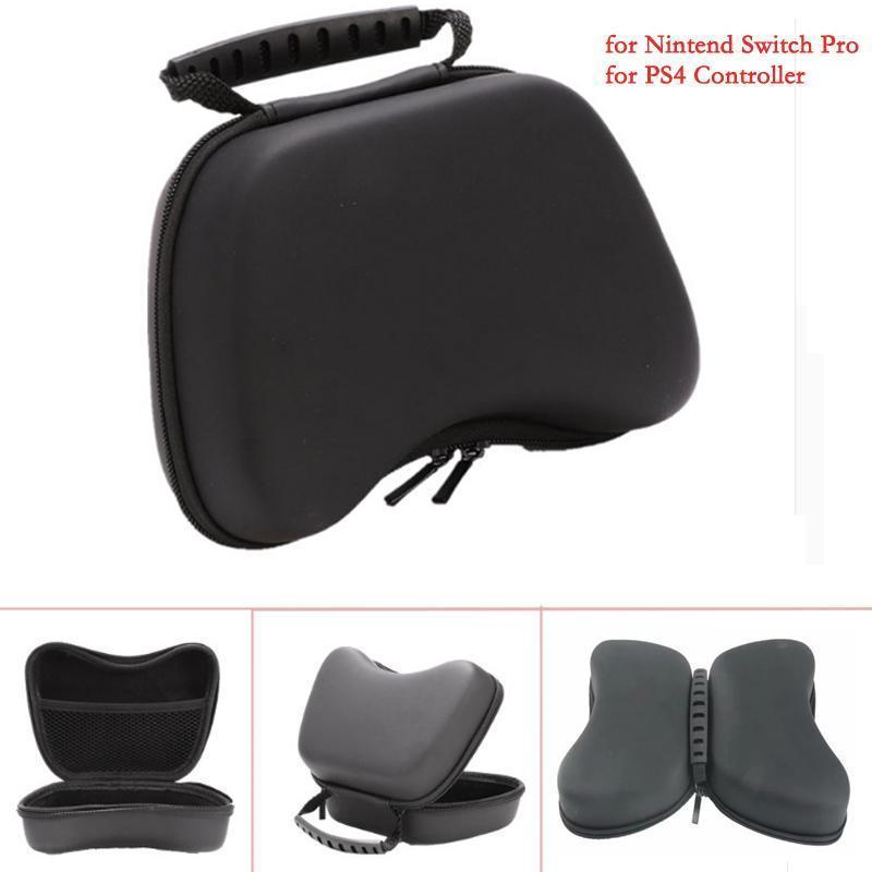 Hard Waterproof Bag For Sony Playstation4 Ps4 Controller Carry Case Protective Cover For Nintend Switch Pro Gamepad