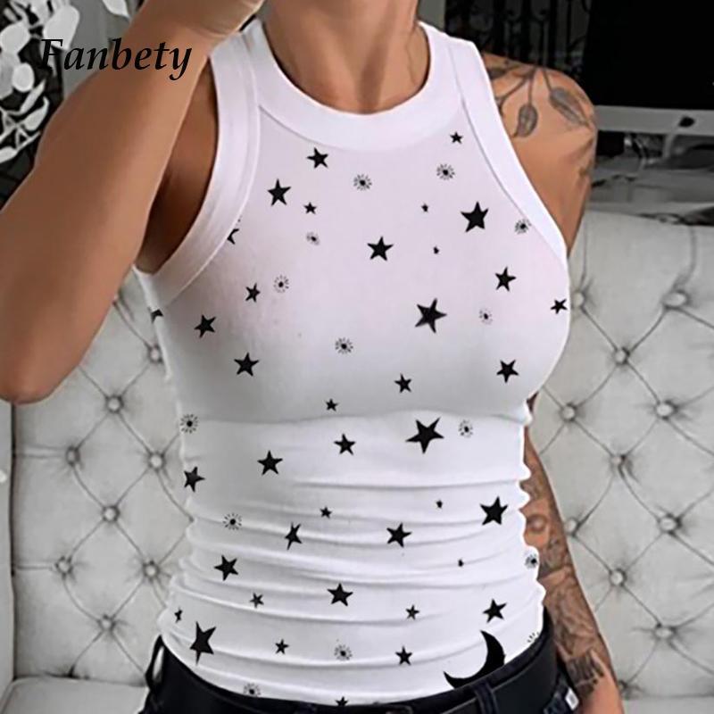 Les femmes élégantes O-cou sans manches en tricot blouse Chemises d'été Nouveau Sexy Encolure Hauts Couleur Solid Slim Fit Bodycon Blusa LJ200811