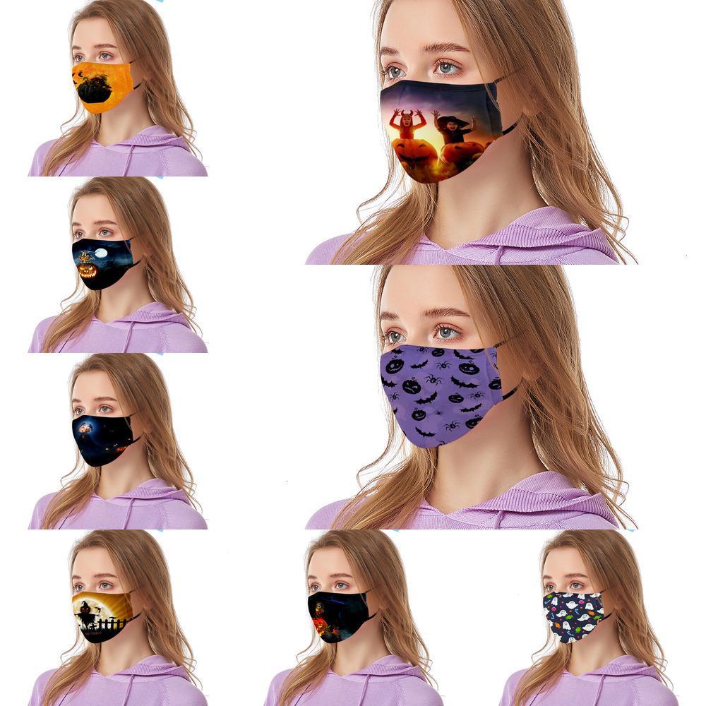 Halloween LIWP impressão LPH6 Primavera Novo filtro PM2.5 algodão engraçado à prova de poeira lavado máscara adulto 2