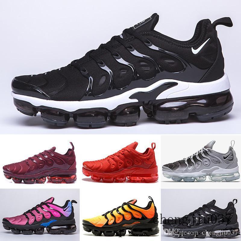 nike Vapormax Tn plus air max airmax Livraison rapide New Mens Shoe Sneakers TN Air plus respirant Cusion desingers Chaussures de course Casual New Arrivée Couleur US5.5-11 GTT9