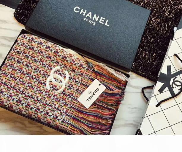 2019 Brand new design j'hwomen's long scarf 100% silk three colors print the chain pattern size