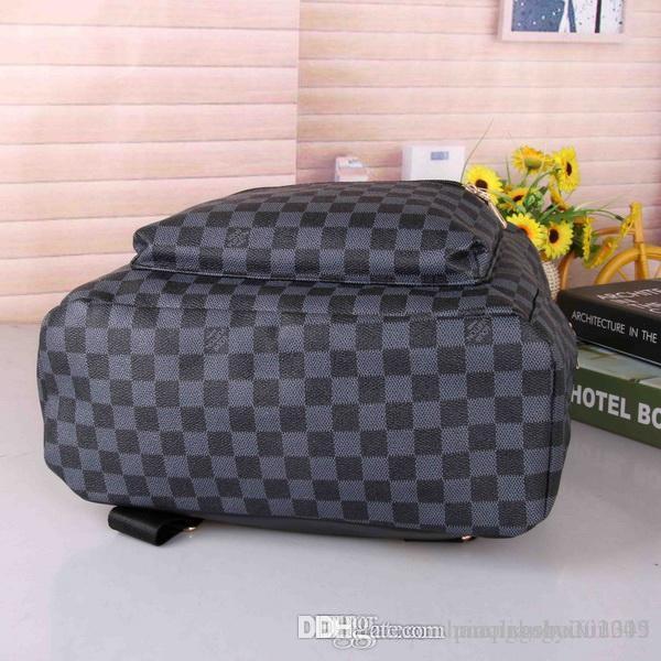 663 # Tasarımcılar Çantalar 2020 Okul Sırt Çantası Seyahat Çantaları Mans Kadınlar Sırt Otantik Kalite Siyah Doğa Sporları # 571 Paketleri