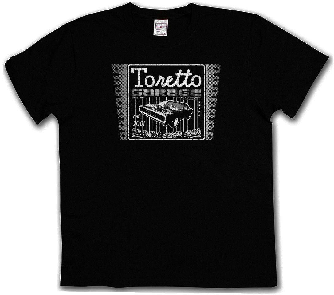 Урожай Торетто Гараж Logo T Shirt Movie 2 The Fast And The Furious тенниска