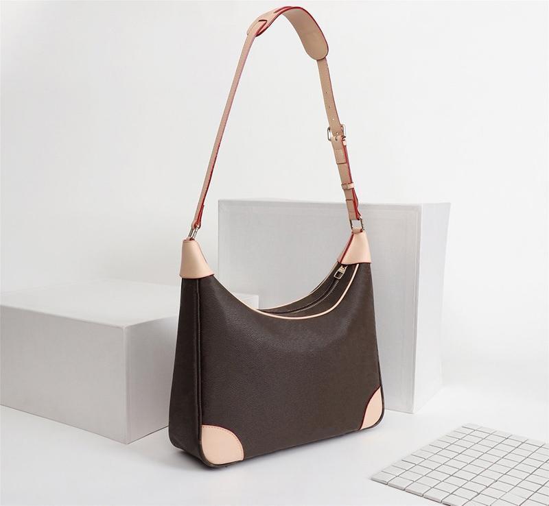 61203 Designer homens marca womens crossbody bolsas brancas xadrez de couro genuíno sacos de qualidade new top ladies meninos 2021 bolsa de ombro bpdte