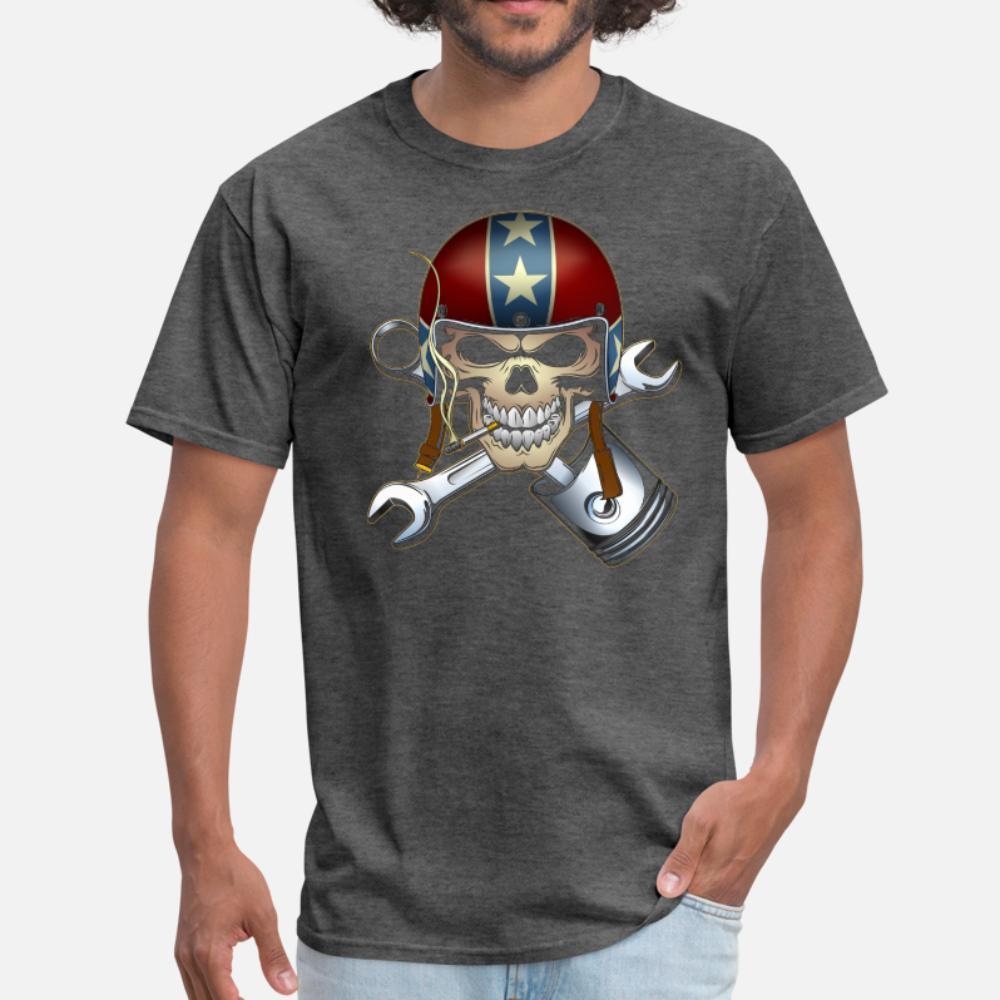 Rebel giro nero uomini della maglietta personalizzati al 100% cotone S-XXXL estate maschio fitness comico camicia originale