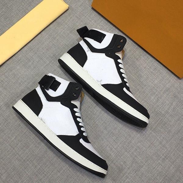 2020 Novos sapatos de marca de impressão instrutor homem Shoe Casual tênis com cadarço Casual Botas raça Runner38-44 sc37