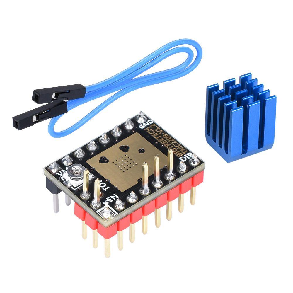 5Pcs BIGTREETECH TMC2209 V1.2 Sessiz StepSticks Step Motor Sürücü VS TMC2130 / TMC5160 3D Yazıcı Parçaları SKR V1.3 / mini E3 için
