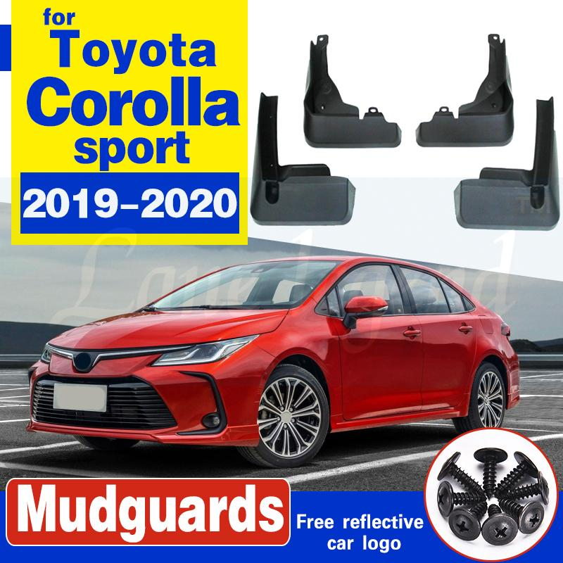 Für Toyota Sedan Corolla Sport E210 Prestige Altis 2019 2020 Autozubehör Mud Flaps Splash Guards Fender Kotflügel 4PCS