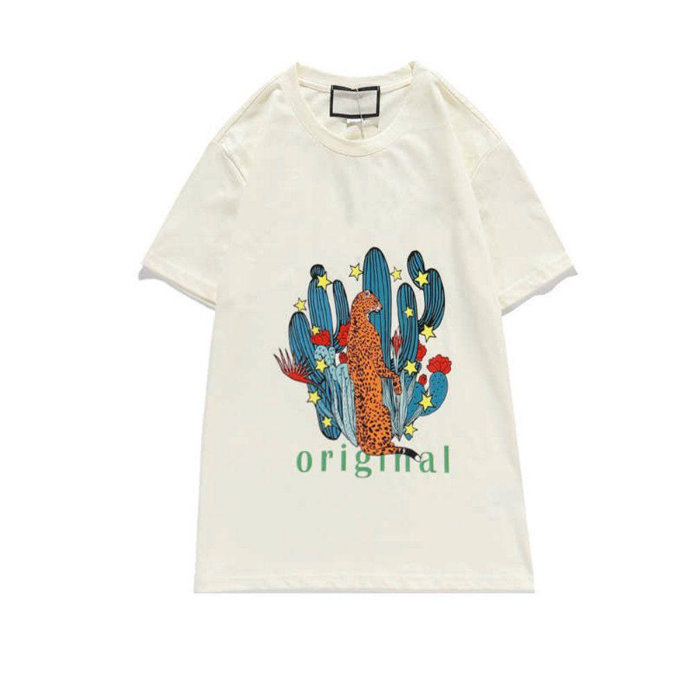 Мода Новые Мужчины Женщины T рубашка с коротким рукавом дышащий футболки Повседневная Streetwear тройники с Letter Printed Tshirt Размер S-2XL