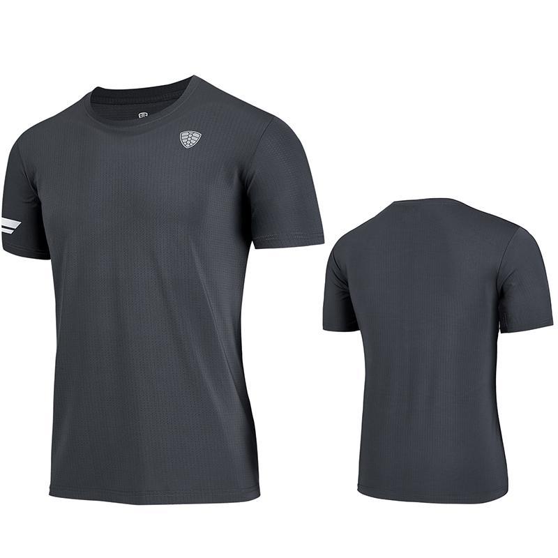 Открытый футболки летняя сетка быстрый сухой баскетбол взбираясь пешеходная футболка с коротким рукавом бегущая футболка мужские велосипедные фитнес спортивные вершины