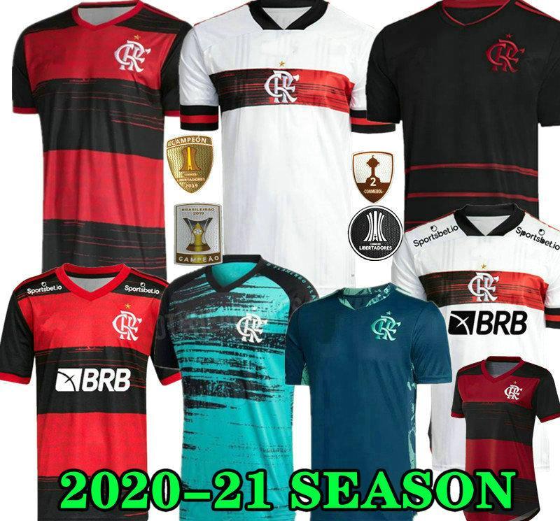 20 21 flamengo forması 2020 2021 Flaman GUERRERO DIEGO VINICIUS JR Futbol Formalar GOLEIRO Flamengo Gabriel B spor futbol adam kadın gömlek