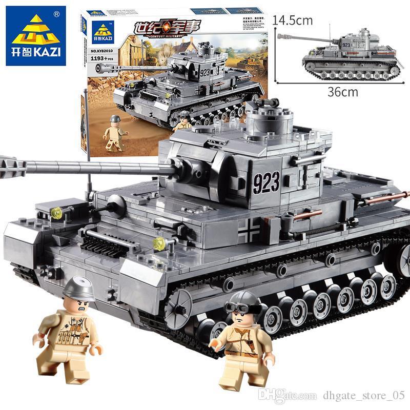Blok oyuncak Askeri serisi Dört numara tankları F2 modeli servis çocukların oyuncaklar çocuğun 2020 satış hediye engellemek