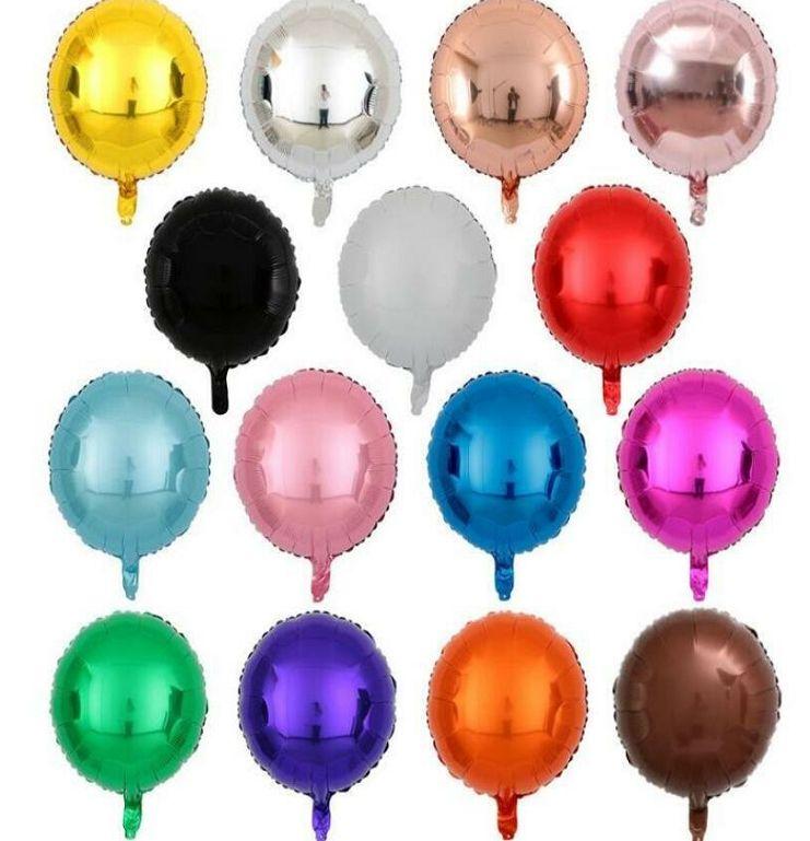 Bunte Luftballons Foil Metall Ballon-Babyparty Hochzeit Geburtstag Party-Ballone Festliche Party-Layout-Dekoration Ballon-Dekoration BLSK242