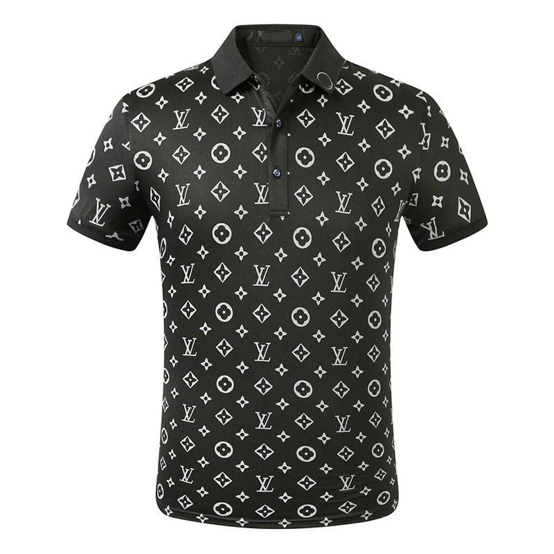 Erkek Tasarımcı Polo T Shirt Erkekler Polo Yaz Polos Gömlek Nakış Polos T Gömlek High Street Trend Gömlek