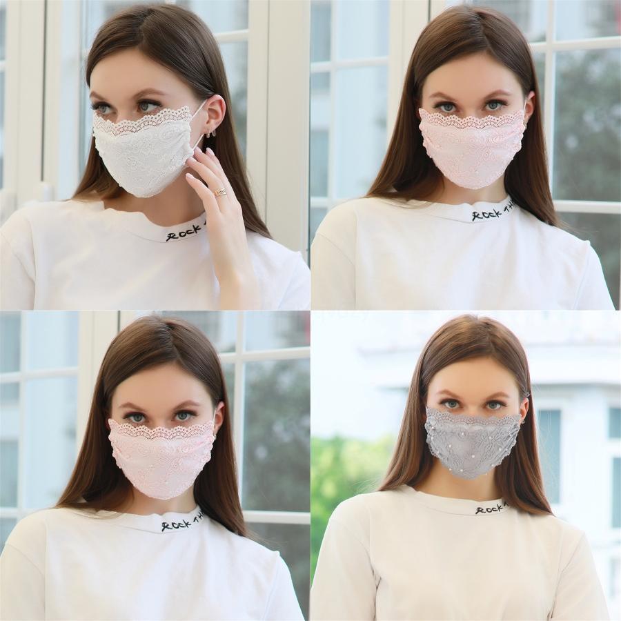 Yeniden kullanılabilir Güneş UV Prection Respiratörler Katlama Baskılı Karşıtı Splashing Toz Maske Kapak Güneşlik Yüz Ağız Maskeleri Mascherine # 776