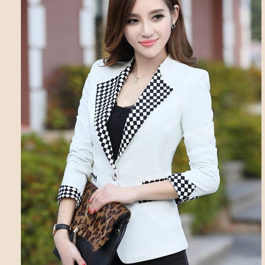 RSUvH ye46O 2020 ressort à manches longues et costume automne col de son manteau de banlieue coréenne petit costume pour les femmes manteau des femmes Nouveau