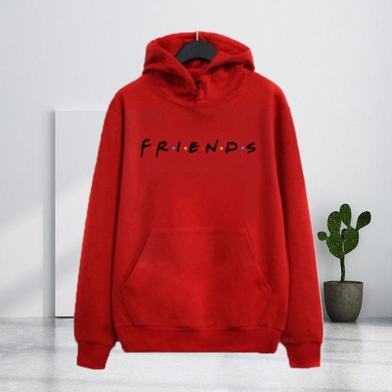CfFA1 2020 encapuzados amigos impressão, impressão capuz para as mulheres 2020 carta Amigos camisola de mangas compridas carta camisola de manga comprida para as mulheres
