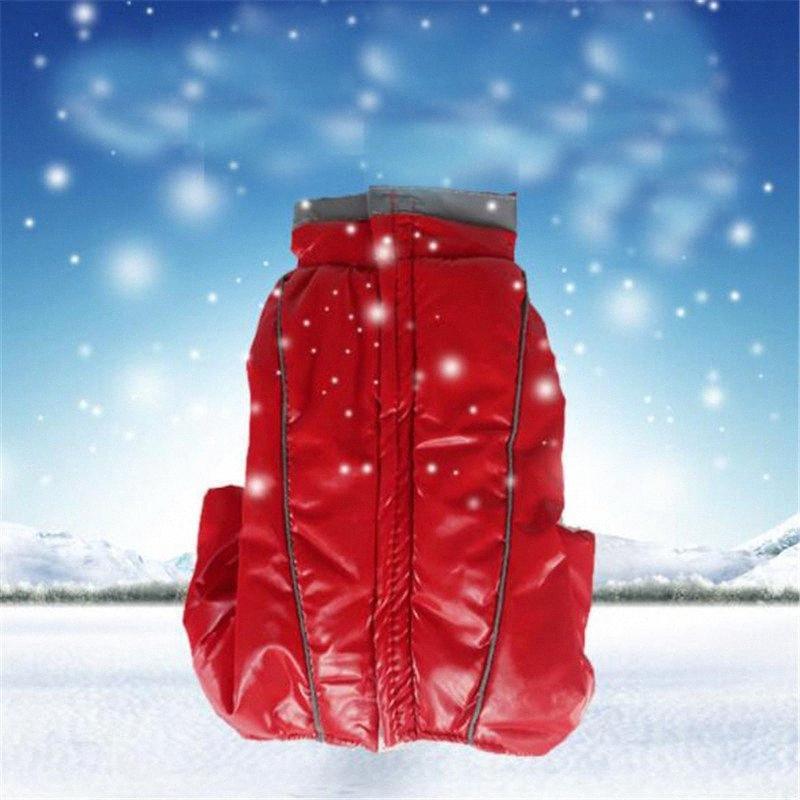 Pet tuta per il cane del rivestimento del cappotto pagliaccetto di inverno Tuta per i piccoli cani Yorkies barboncino Pug Ragazze cucciolo Pigiama Costume Abbigliamento ktqZ #