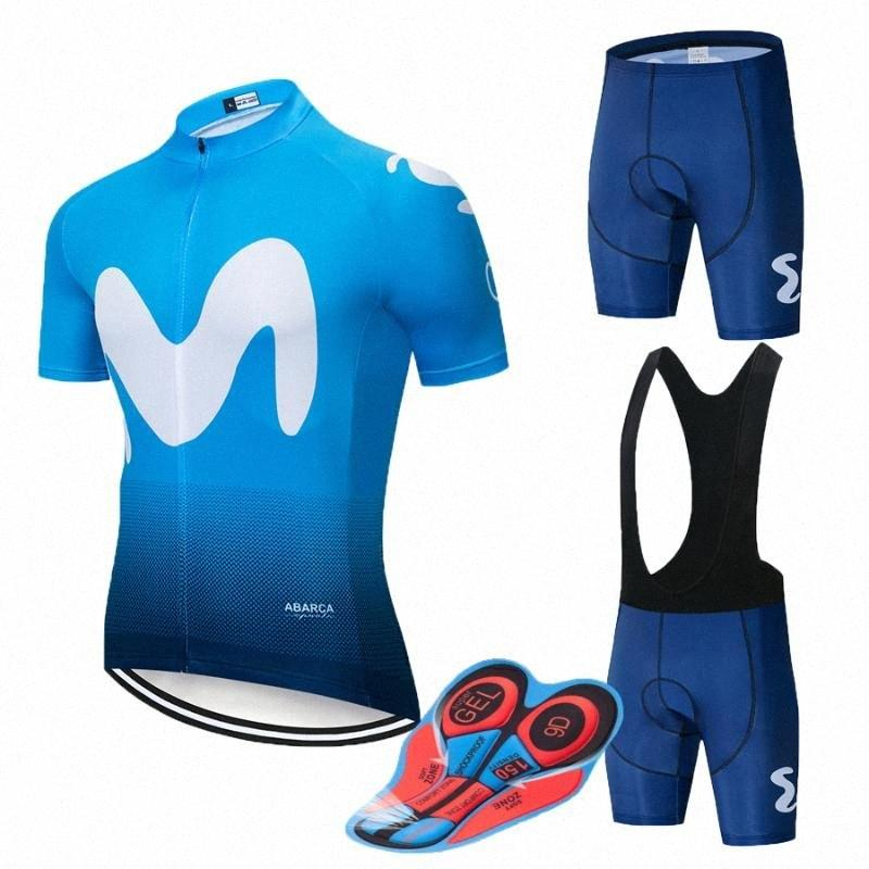 2020 2020 TEAM colorato M Cycling Jersey 9D Gel Bike Shorts Imposta Mens Ropa Ciclismo Maillot Culotte Biycling Top Bottoms Suit Da Qin gMO2 #