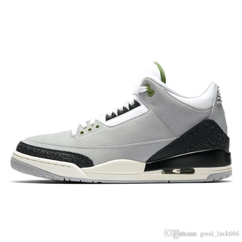 Basketball 3 Nouveau Box blanc pur 2019 Hommes avec 3s chaussures Tinker Katrina JTH LANCER FRANC Linell Chicago OG Royal Black Cement Designer