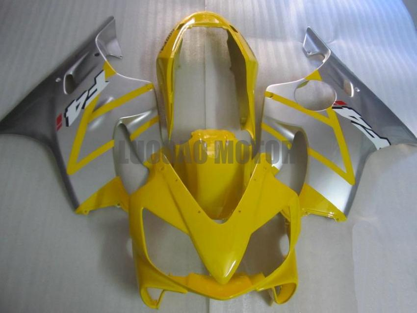 Injection Fairings kit+gifts for HONDA CBR600 F4i 2004 2005 2006 2007 CBR600 04 05 06 07 CBR600 F4i 04-07 body cover+windscreen #YELLOW#Q7H4