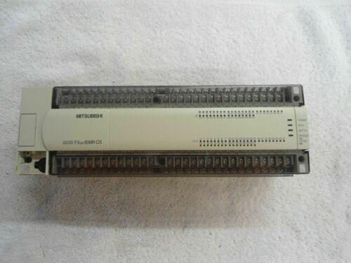 ONE Подержанные Mitsubishi FX2N-80MR-DS PLC Программируемый контроллер Испытано Полностью