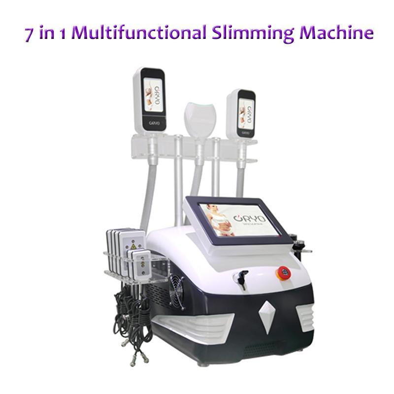 Nouvelle machine minceur gel de graisse cryolipolysis portable 360 degrés cavitation à ultrasons corps cryo thérapie minceur RF