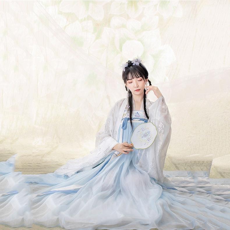 estate delle donne 2cTmd adulti nuovo stile antico pannello esterno lungo clothingclothing costume cinese femmina adulta elementi cinesi petto di lunghezza