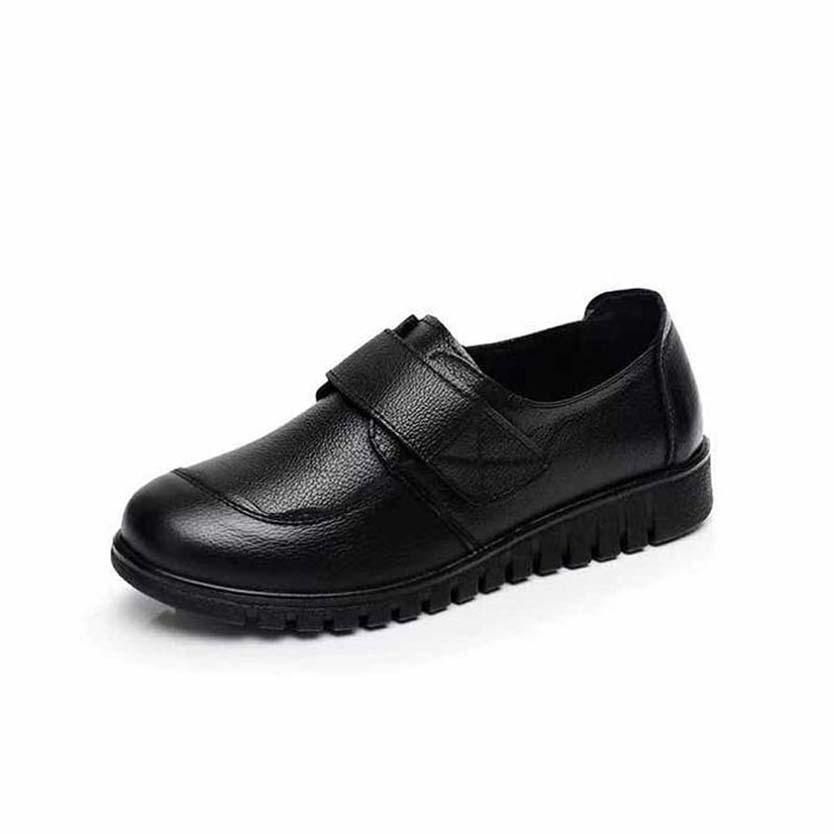 zapatos de moda de invierno de las mujeres sandalias de verano Pisos atractivas de cuero reales rsandals plataforma zapatos de los planos terror de las chicas Beach SH04 P21