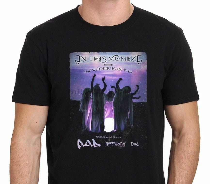 In This Moment A T-shirt Witching Hour logotipo 2020