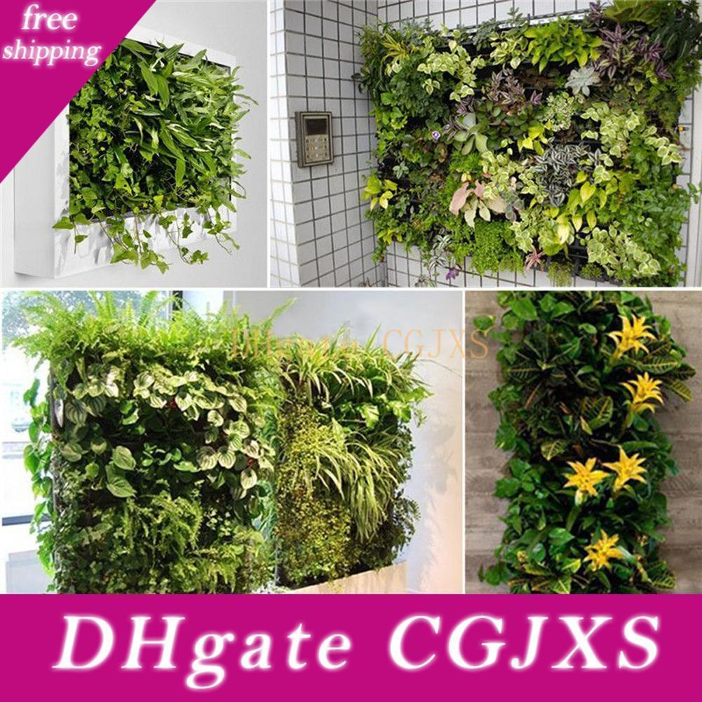 New Design 56 Pocket Grow Bags Outdoor Vertical Greening Hanging Wall Garden Plant Bags Wall Planter Indoor Outdoor Herb Pot