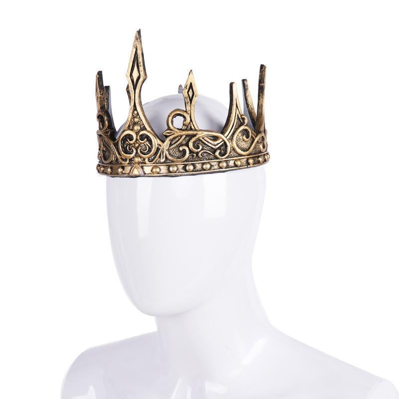 Party Hüte Krone Geburtstag Weihnachten Dekorationen für Home PU Halloween Theater Requisiten Kinder Geschenk King Cosplay