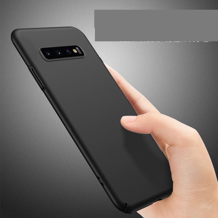 Slim Fit ultra sottile Custodia per Samsung A10S A21S A31 A41 A51 A71 A81 A91 5G S20 PLUS S10 finitura opaca dura con grande presa anti-graffiatura della copertura