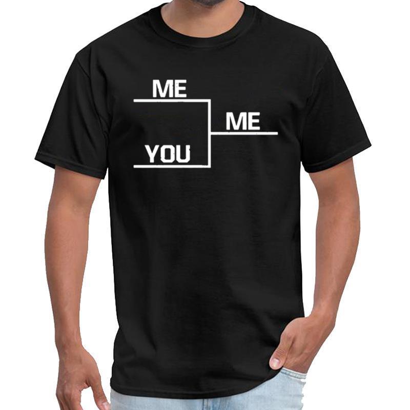 Gewinnen Lustig Sie mich Bracket Lustige Sport-Gymnastik-Fuß T-Shirt Männer T-Shirt s-6xl T-Shirt Spitzen Töter lustige Männer Fashion